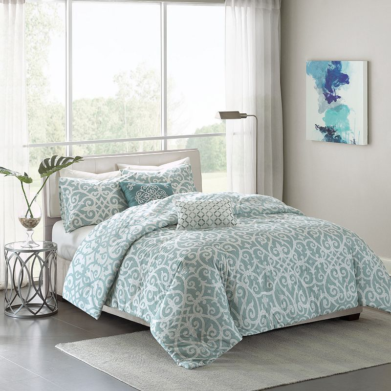Madison Park Pure Lucia 5-piece Bed Set