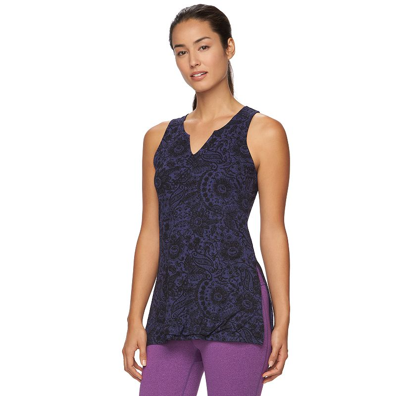 Women's Gaiam Solar Yoga Tank