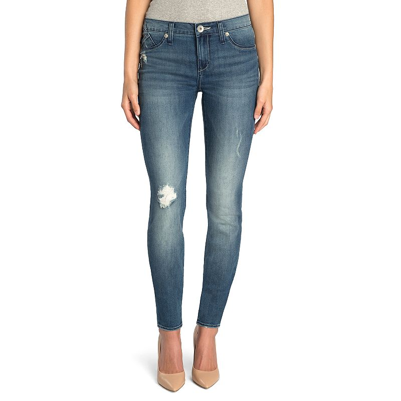 Women's Rock & Republic® Ripped Skinny Jeans