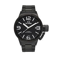 TW Steel Men's Canteen Stainless Steel Watch - CB211