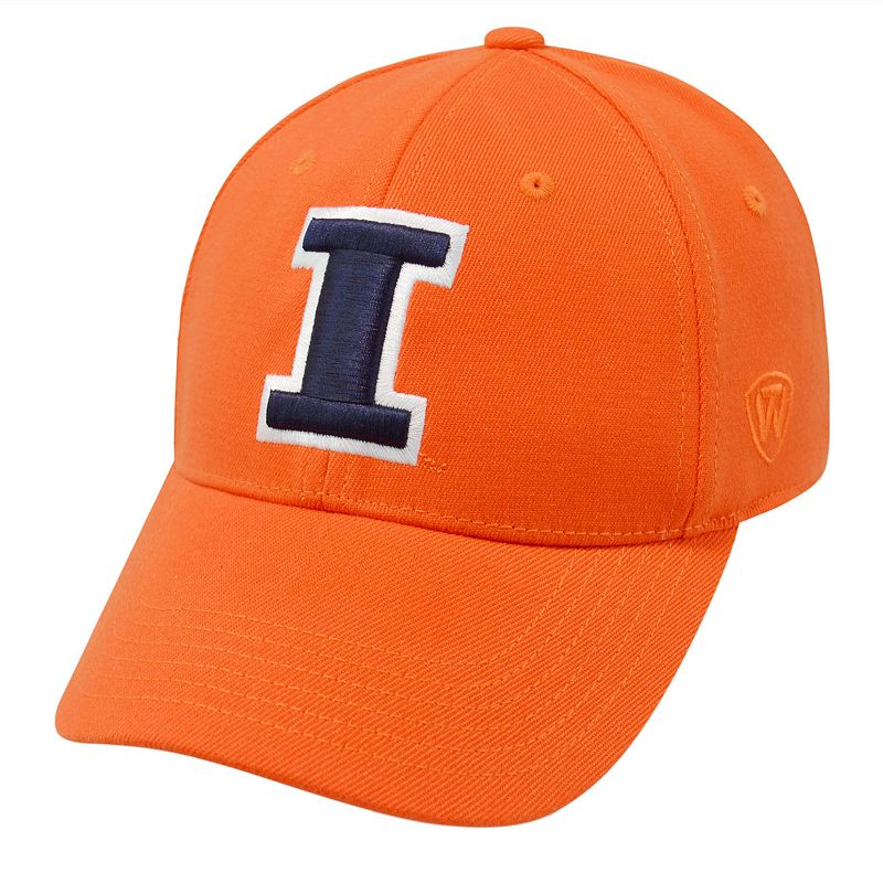 Adult Top of the World Illinois Fighting Illini One-Fit Cap