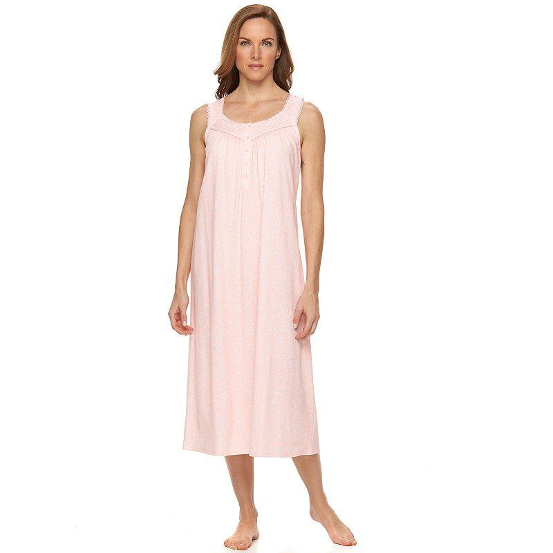 Women's Croft & Barrow® Pajamas: Sleeveless Knit Nightgown