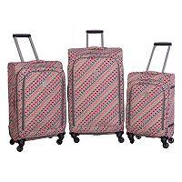 Jenni Chan Tiles Spinner Luggage