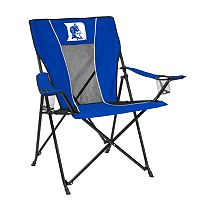 Adult Logo Brand Duke Blue Devils Game Time Portable Folding Chair