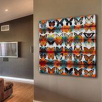 Parvez Taj Butterflies Canvas Wall Art