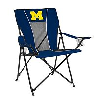 Adult Logo Brand Michigan Wolverines Game Time Portable Folding Chair