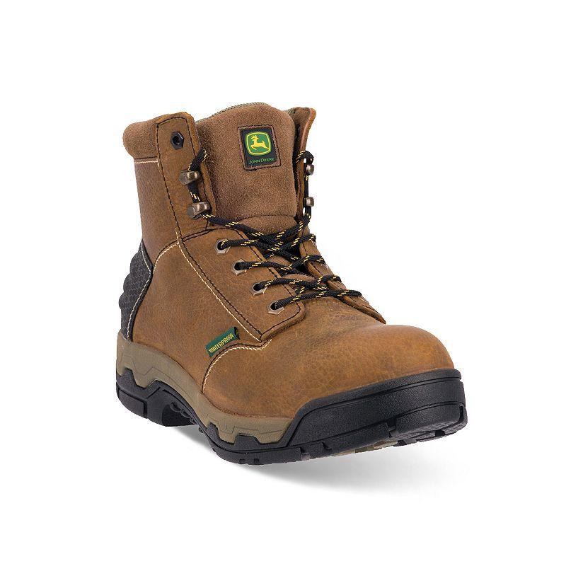 John Deere Men's WCT II Waterproof Safety-Toe Hiking Boots