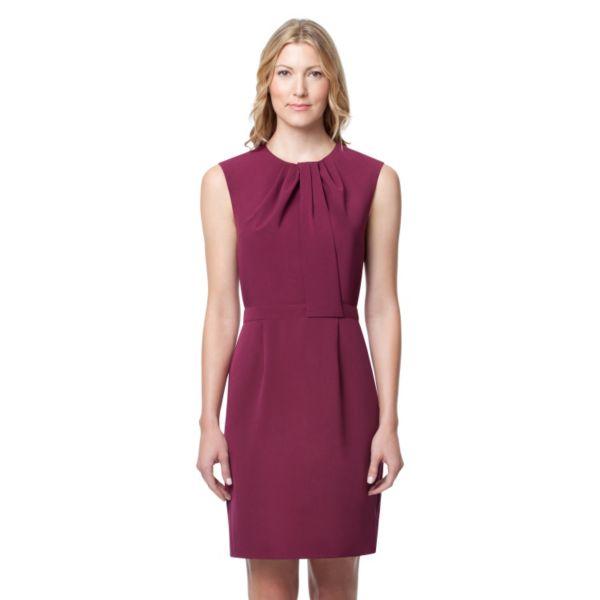 Women's Larry Levine Pleated Sheath Dress