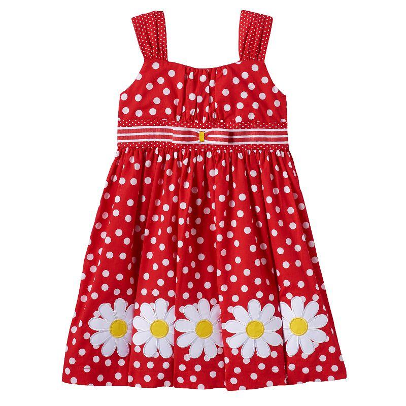Toddler Girl Blueberi Boulevard Daisy Dress