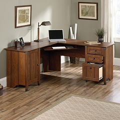 Carson Forge Corner Computer Desk by
