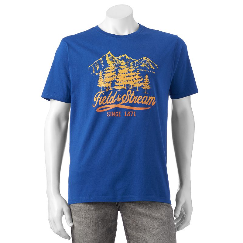 Men 39 s field stream fishing tee dealtrend for Field and stream fishing shirts