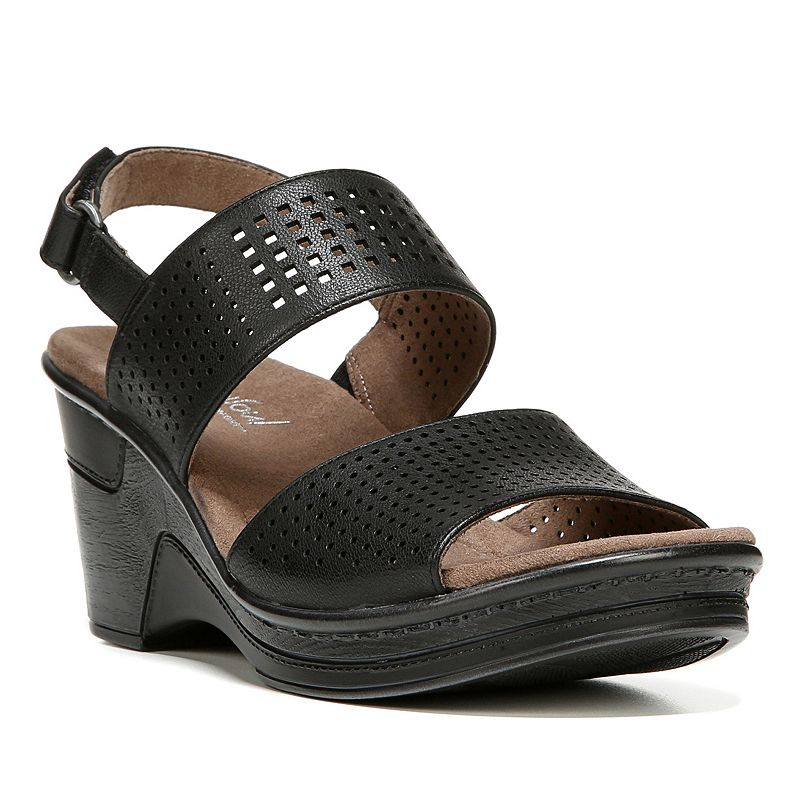 NaturalSoul by naturalizer Rayla Women's Slingback Wedge Sandals