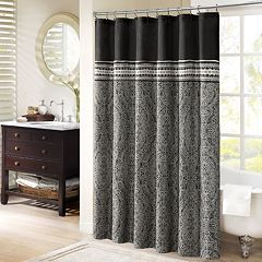 Madison Park Denton Shower Curtain by