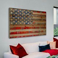 Parvez Taj ''American Dream'' Wood Wall Art