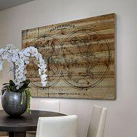 Parvez Taj ''Mappe'' Wood Wall Art