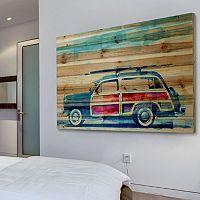 Parvez Taj ''Surf Day'' Wood Wall Art