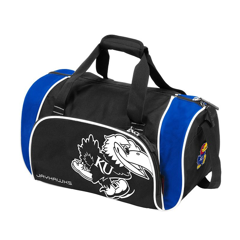 Logo Brand Kansas Jayhawks Locker Duffel Bag