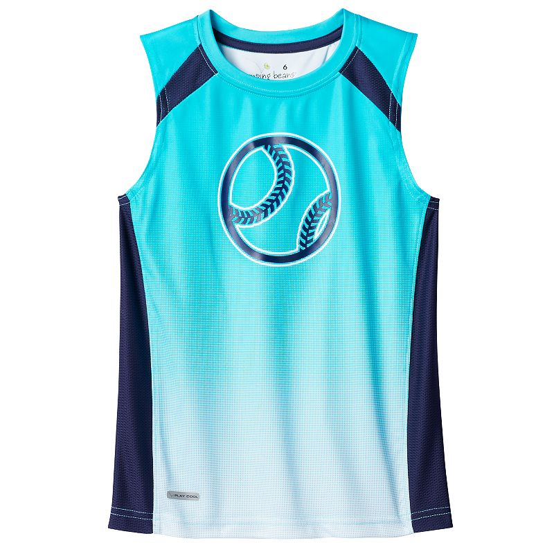 Boys 4-10 Jumping Beans® Gradient Performance Muscle Tank