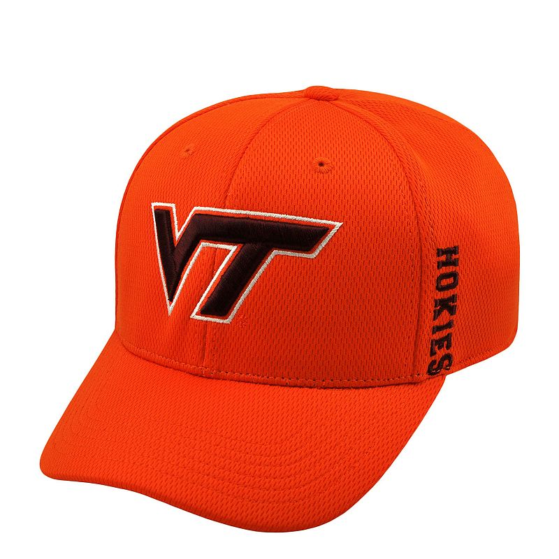 Adult Top of the World Virginia Tech Hokies Booster One-Fit Cap