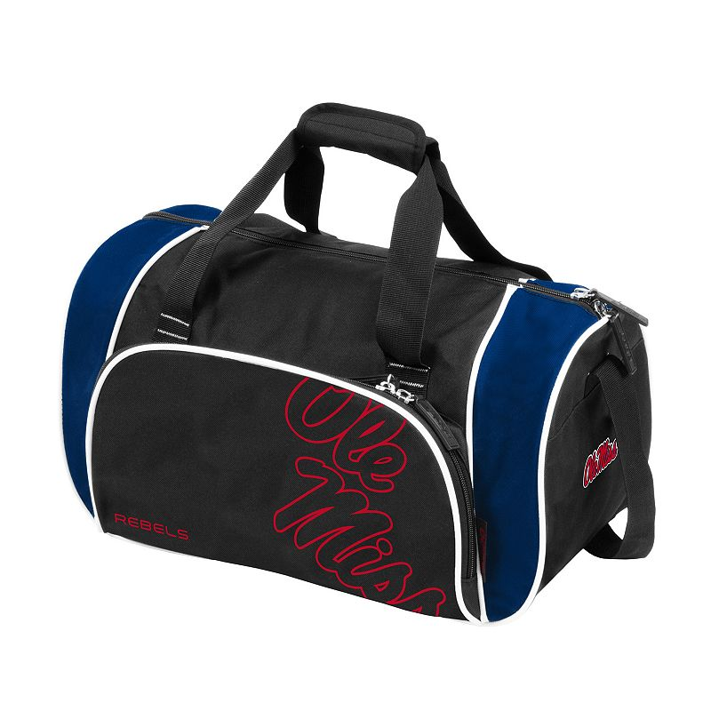 Logo Brand Ole Miss Rebels Locker Duffel Bag