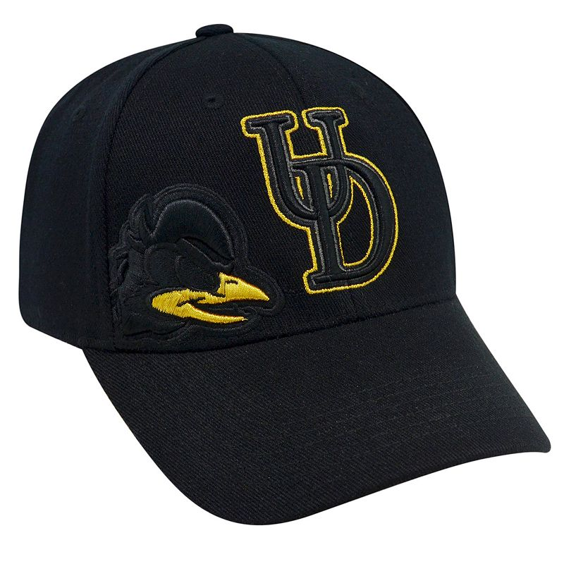 Adult Top of the World Delaware Blue Hens Burnout One-Fit Cap