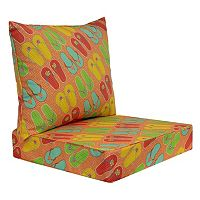 SONOMA Goods for Life™ Indoor / Outdoor Deep Seat Cushion 2-piece Set