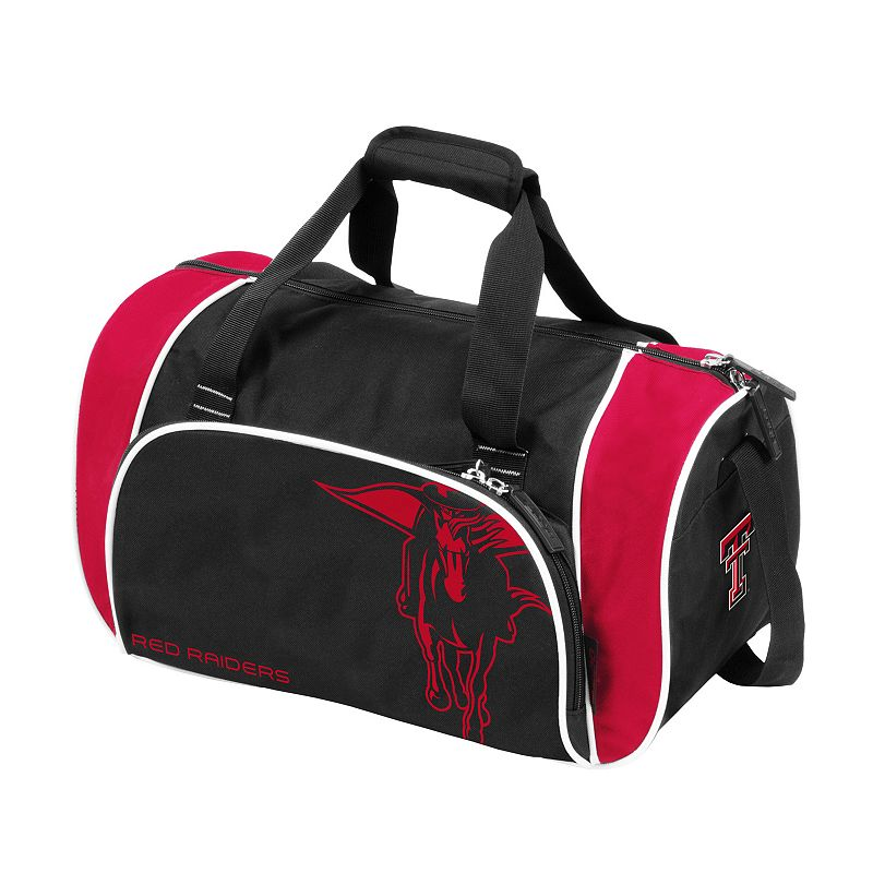 Logo Brand Texas Tech Red Raiders Locker Duffel Bag