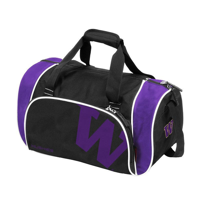 Logo Brand Washington Huskies Locker Duffel Bag