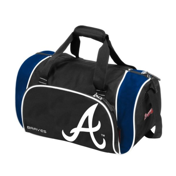 Logo Brand Atlanta Braves Locker Duffel Bag