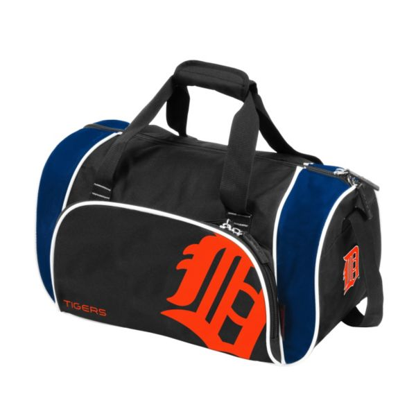 Logo Brand Detroit Tigers Locker Duffel Bag