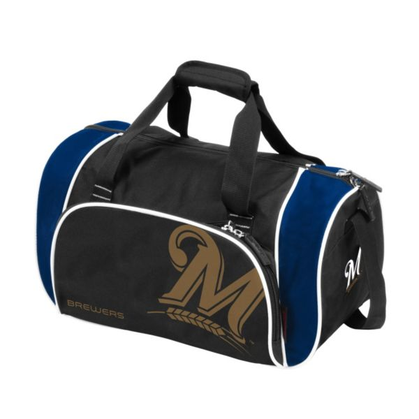Logo Brand Milwaukee Brewers Locker Duffel Bag