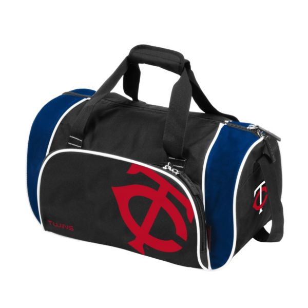 Logo Brand Minnesota Twins Locker Duffel Bag