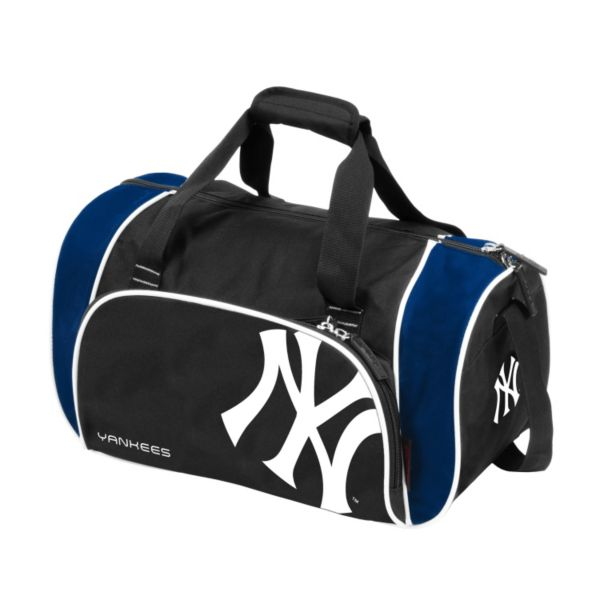 Logo Brand New York Yankees Locker Duffel Bag