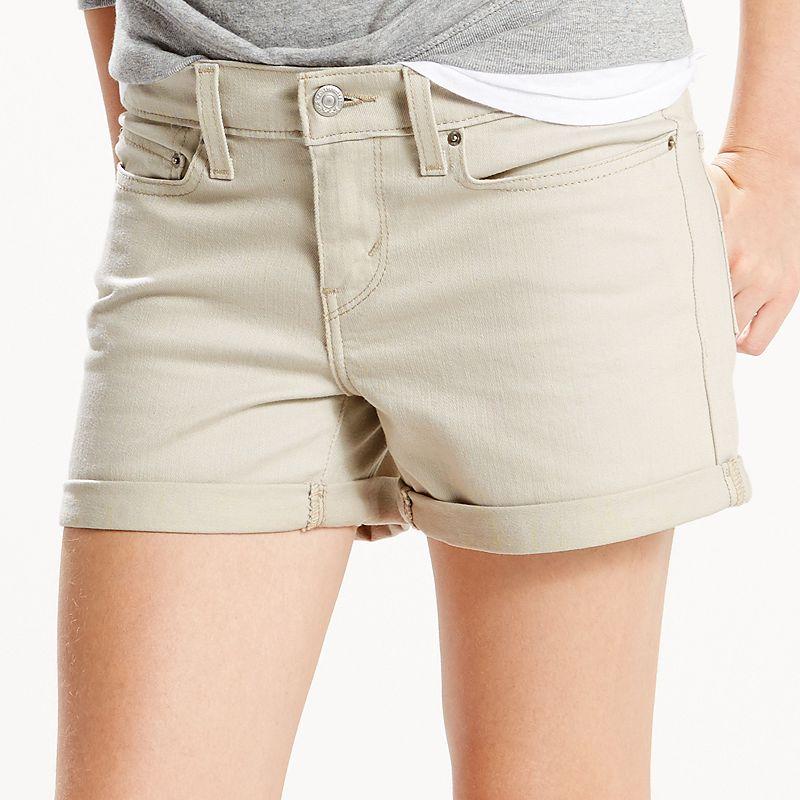 Women's Levi's Cuffed Jean Shorts