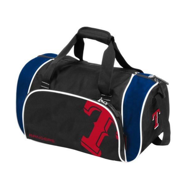 Logo Brand Texas Rangers Locker Duffel Bag