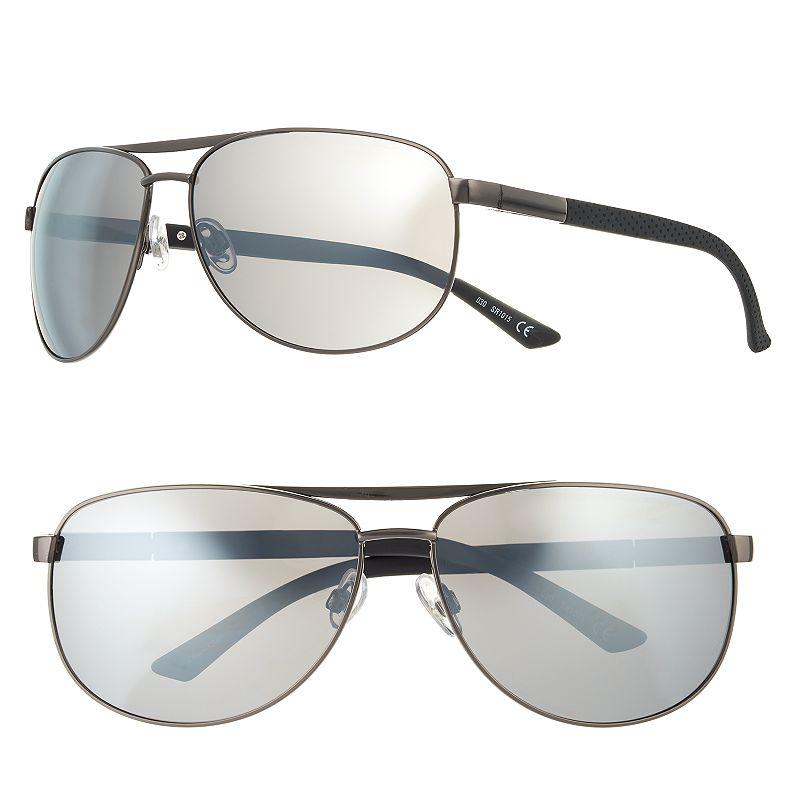 Men's Apt. 9® Polarized Aviator Sunglasses
