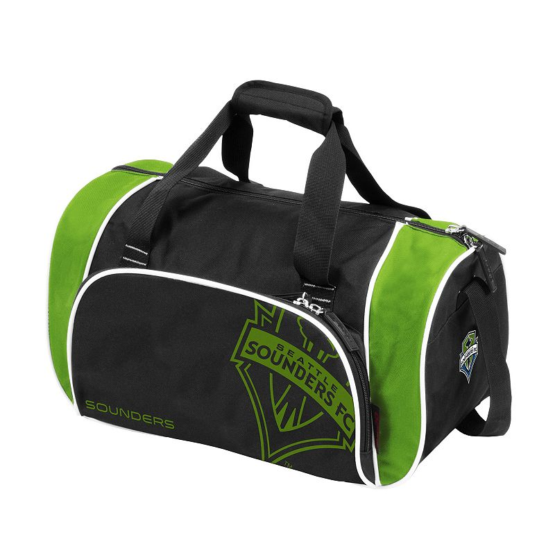 Logo Brand Seattle Sounders Locker Duffel Bag