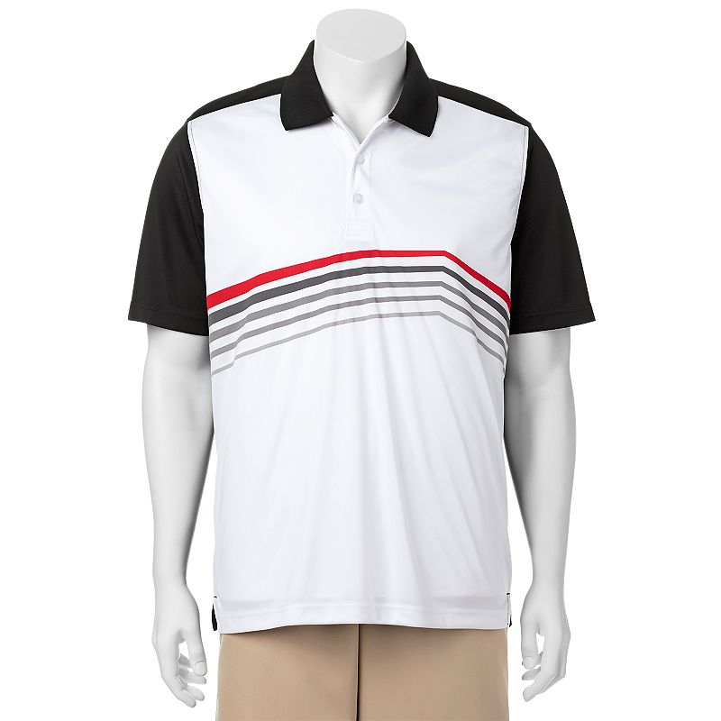 Men's C-BUK by Cutter & Buck Springfield Slim-Fit Patterned Performance Golf Polo
