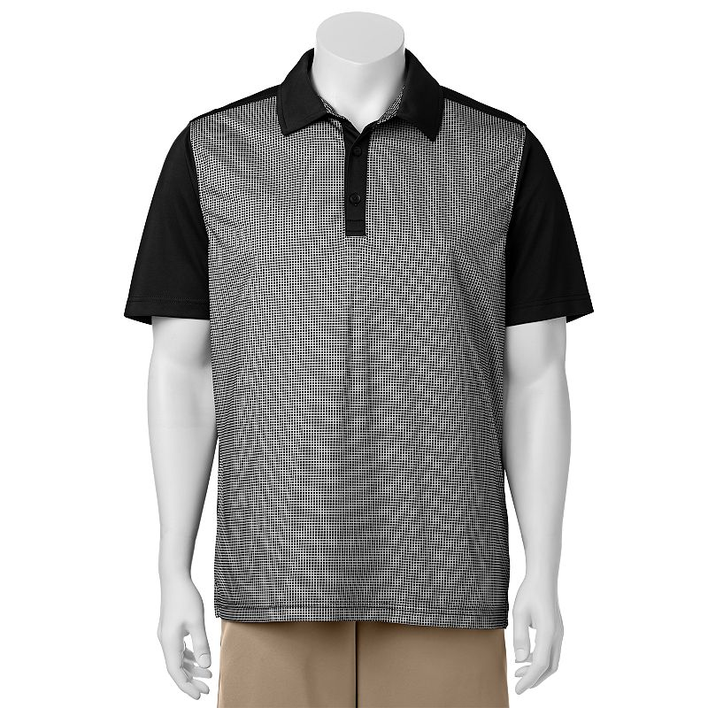 Men's C-BUK by Cutter & Buck Wildwood Slim-Fit Colorblock Performance Golf Polo