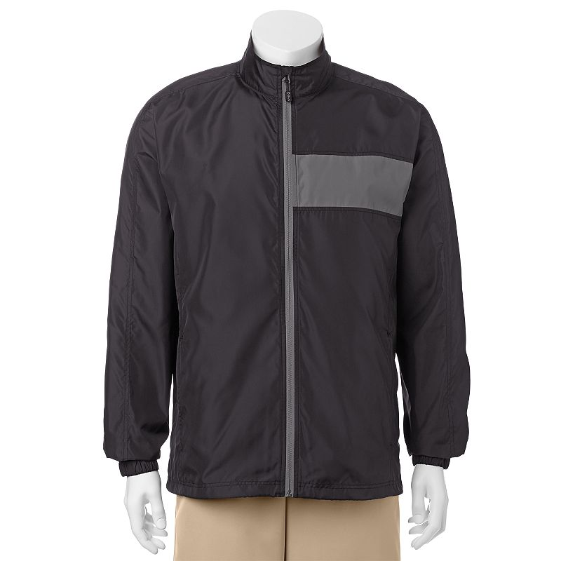 Men's C-BUK by Cutter & Buck Crosswater Slim-Fit Colorblock Lightweight Golf Jacket