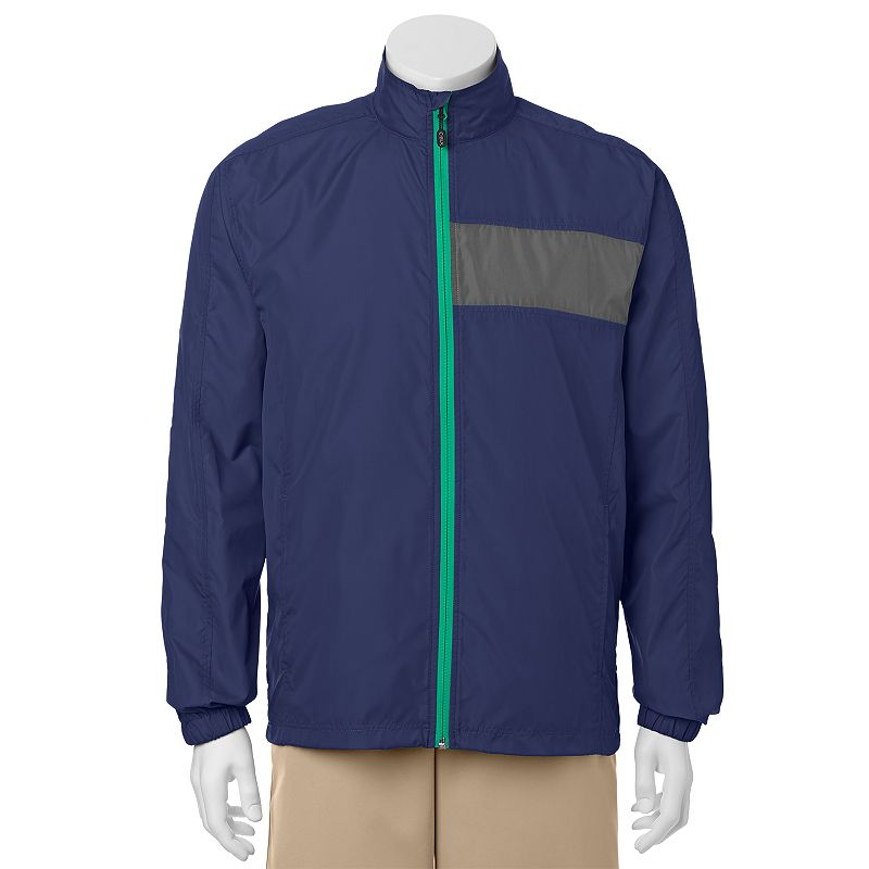 Men's C-BUK by Cutter & Buck Crosswater Slim-Fit Colorblock Lightweight Golf Jacket