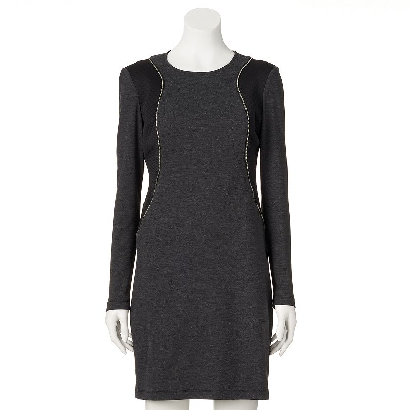 Women's M by Maia Quilted Sheath Dress