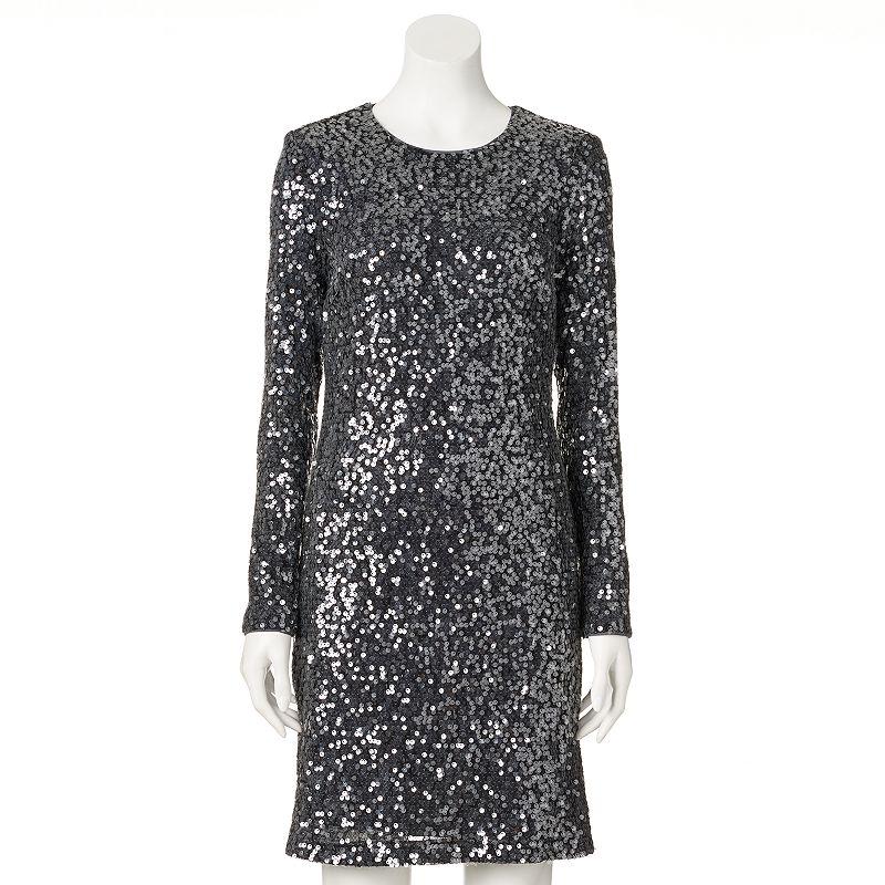 Women's M by Maia Sequin Sheath Dress