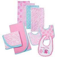 Baby Girl Gerber 9-pc. Feeding Set