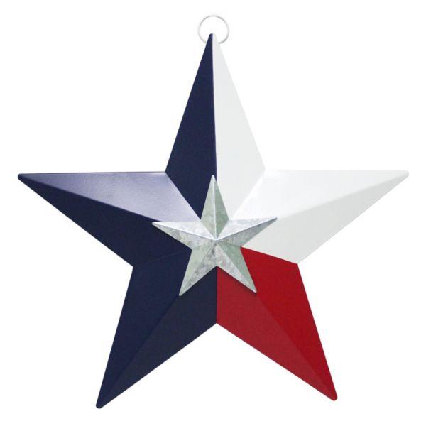 Celebrate Americana Together Texas Star Metal Wall Decor