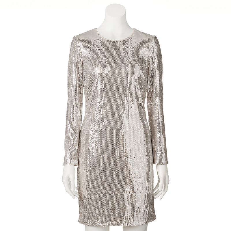 Women's M by Maia Sequin Sheath Dress