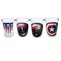Marvel Captain America 75th Anniversary 4-pc. Toothpick Holder Set