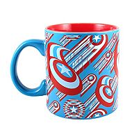 Marvel Captain America 75th Anniversary Shield Coffee Mug