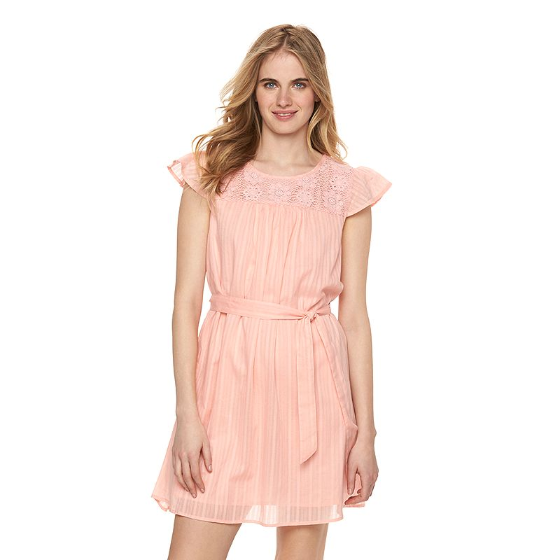 Women's LC Lauren Conrad Lace Babydoll Dress