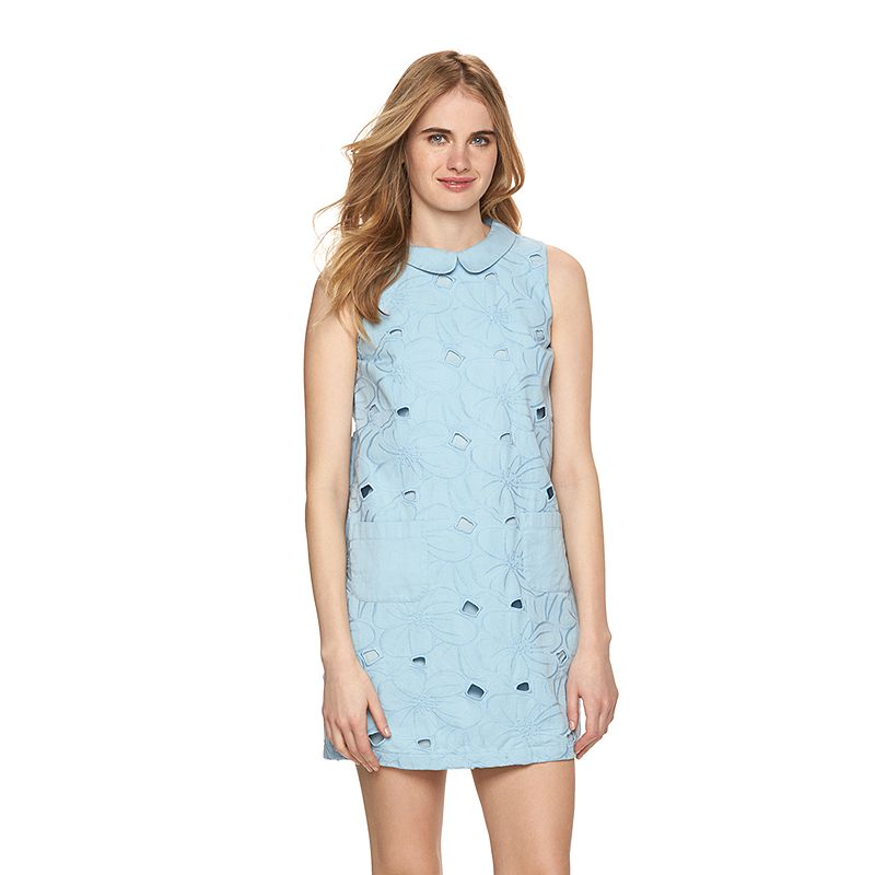 Women's LC Lauren Conrad Embroidered Floral Shift Dress